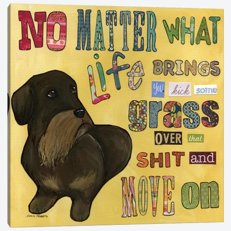 No Matter What Canvas Print #MRH68} by Jamie Morath Canvas Artwork