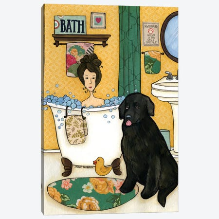 Not Just A Dog Canvas Print #MRH69} by Jamie Morath Canvas Artwork