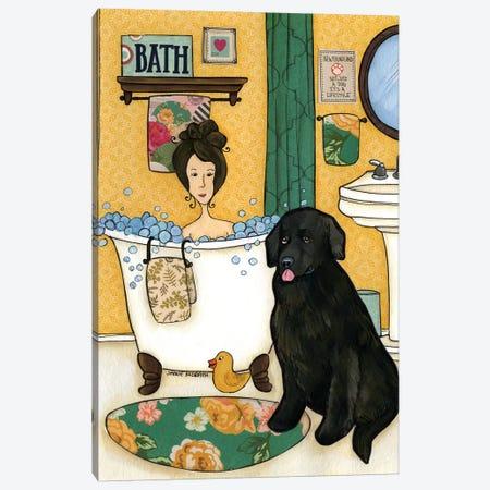 Not Just A Dog Canvas Print #MRH69} by Jamie Morath Canvas Artwork