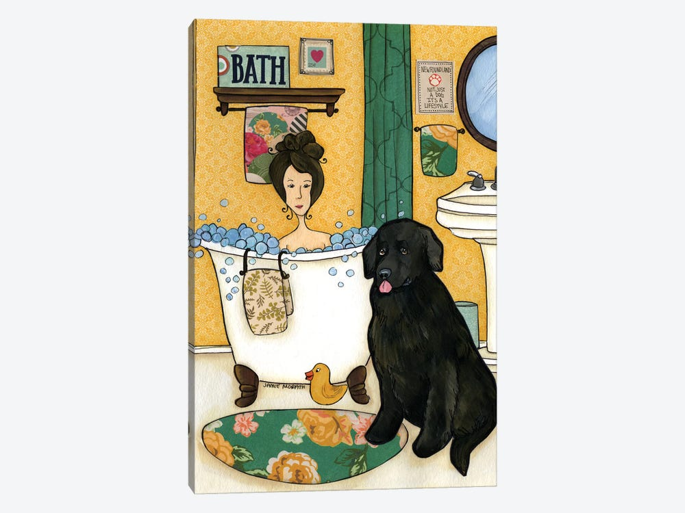Not Just A Dog by Jamie Morath 1-piece Canvas Art Print