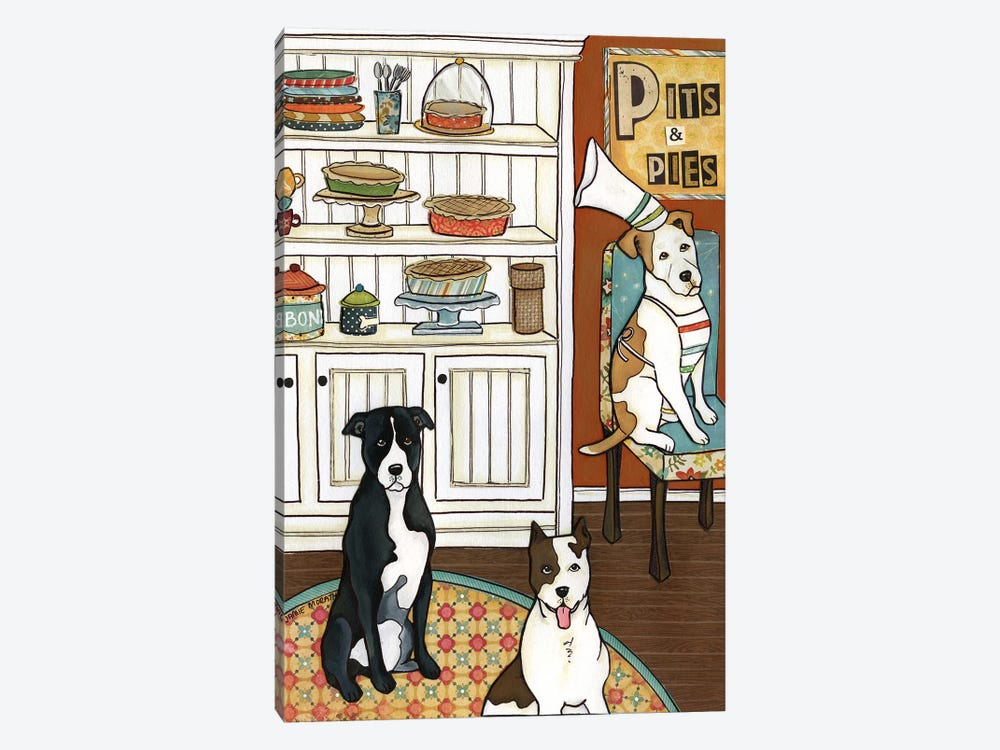 Pits And Pies by Jamie Morath 1-piece Art Print