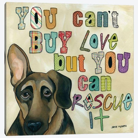 Rescue It Canvas Print #MRH81} by Jamie Morath Canvas Wall Art