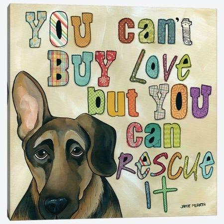 Rescue It Canvas Print #MRH81} by Jamie Morath Canvas Wall Art