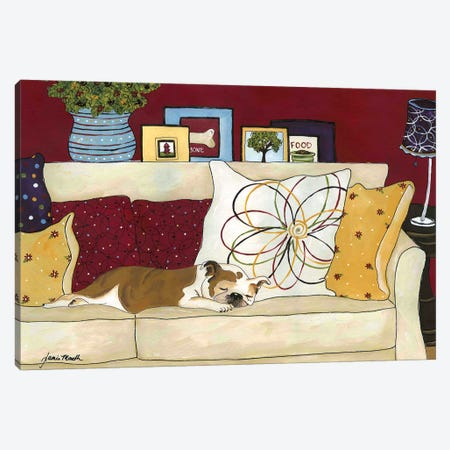Sweet Dreams Canvas Print #MRH92} by Jamie Morath Art Print