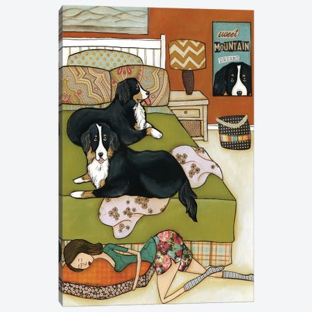 Sweet Mountain Dreams Canvas Print #MRH93} by Jamie Morath Art Print