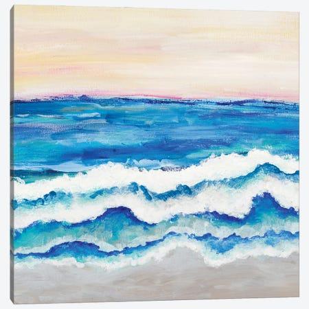 Rolling Waves I Canvas Print #MRI27} by Merri Pattinian Canvas Art