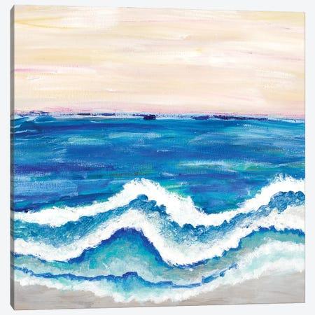 Rolling Waves II Canvas Print #MRI28} by Merri Pattinian Art Print