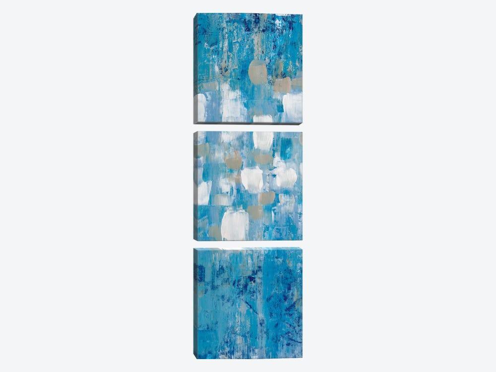 Sapphire City II by Merri Pattinian 3-piece Canvas Art Print