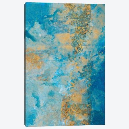 Coastline Vertical Abstract II Canvas Print #MRI6} by Merri Pattinian Canvas Art