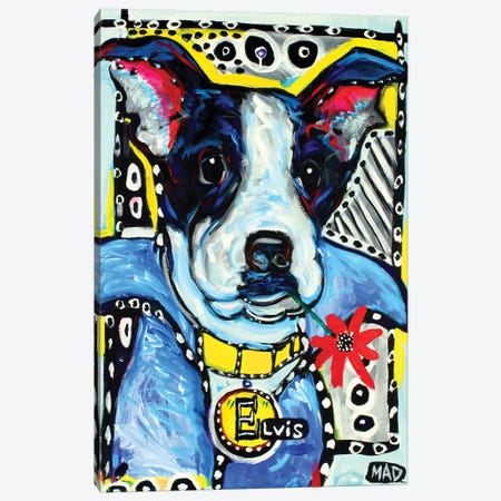Elvis II Canvas Print #MRK13} by MADdog Art Gallery Canvas Artwork