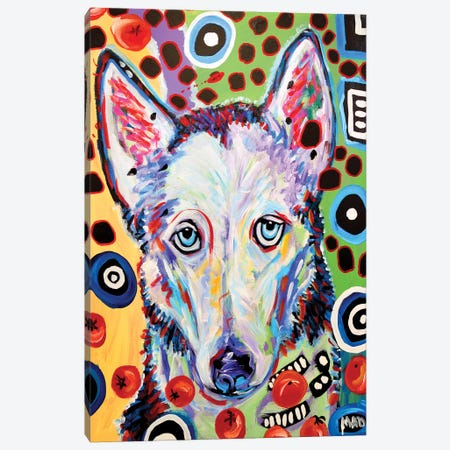 Husky Doo Canvas Print #MRK18} by MADdog Art Gallery Canvas Art
