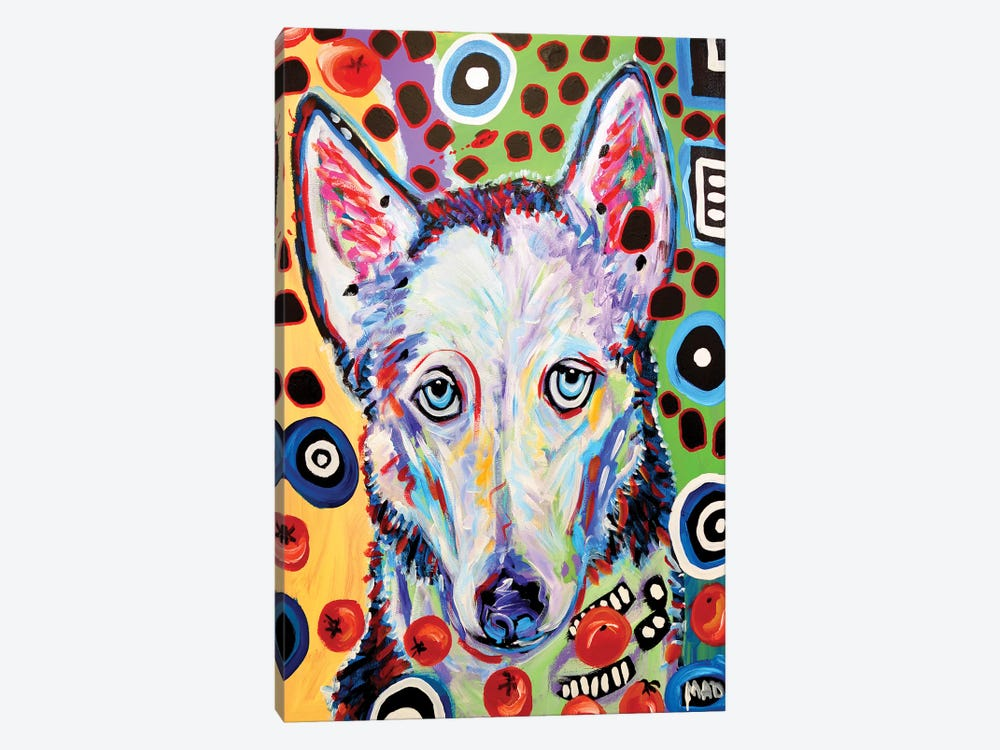 Husky Doo by MADdog Art Gallery 1-piece Art Print