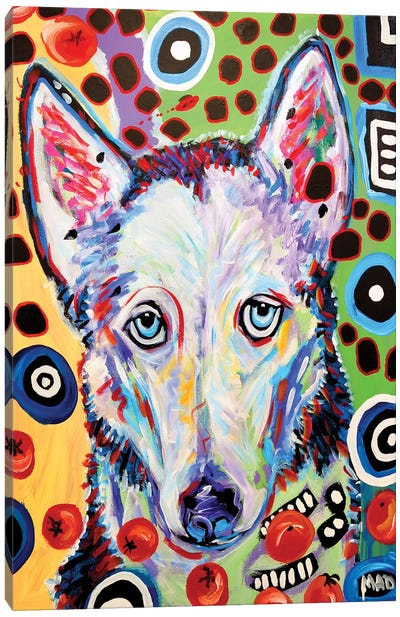 Husky Doo Canvas Art Print