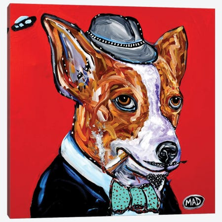 Jack Canvas Print #MRK19} by MADdog Art Gallery Canvas Wall Art