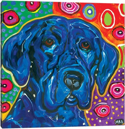 Artopia Blue Lab I Canvas Art Print
