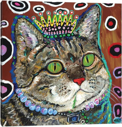 Purrmeistress Canvas Art Print