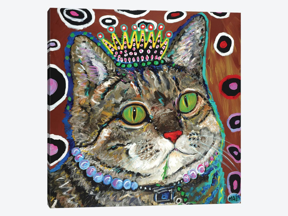 Purrmeistress by MADdog Art Gallery 1-piece Canvas Print