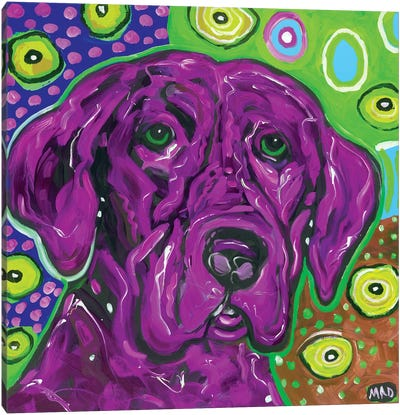 Artopia Blue Lab II Canvas Art Print