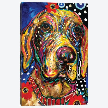 Roxie Canvas Print #MRK30} by MADdog Art Gallery Canvas Artwork