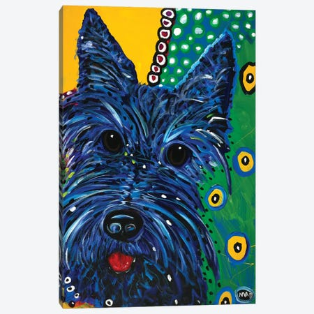 Scottie Canvas Print #MRK31} by MADdog Art Gallery Canvas Wall Art