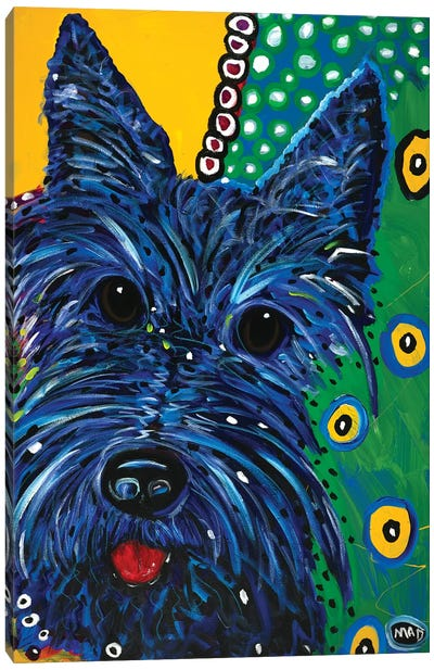 Scottie Canvas Art Print