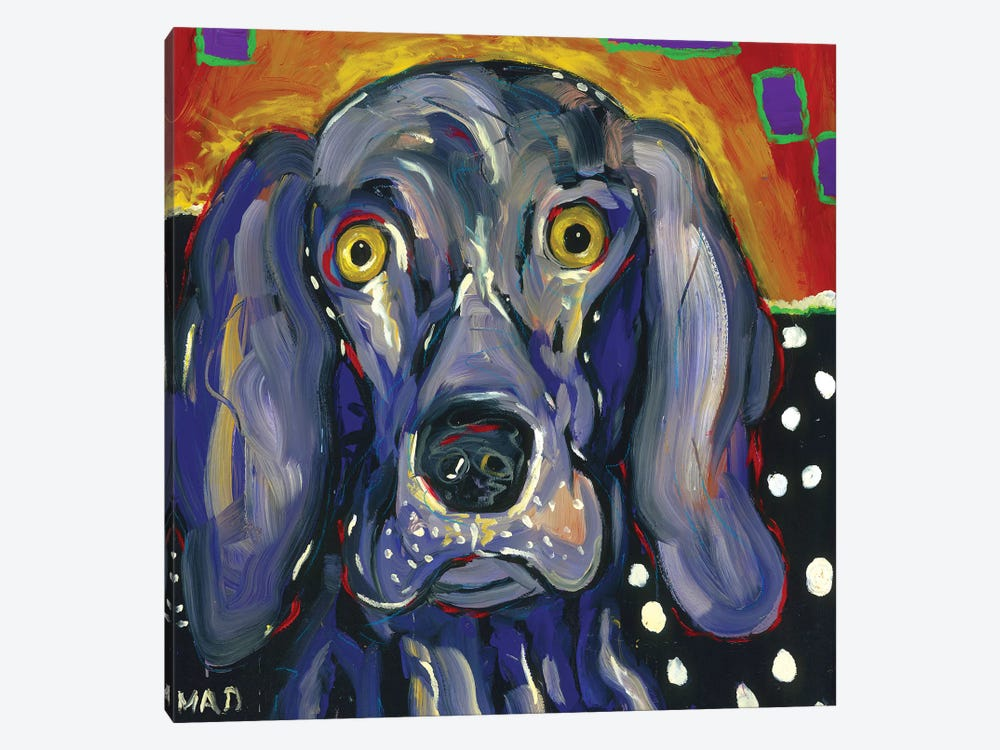 Winston by MADdog Art Gallery 1-piece Canvas Print