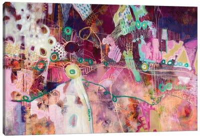 Finding Deep Violation Canvas Art Print
