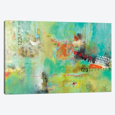 Numerology Canvas Print #MRM30} by Maria Marta Crespo Canvas Wall Art
