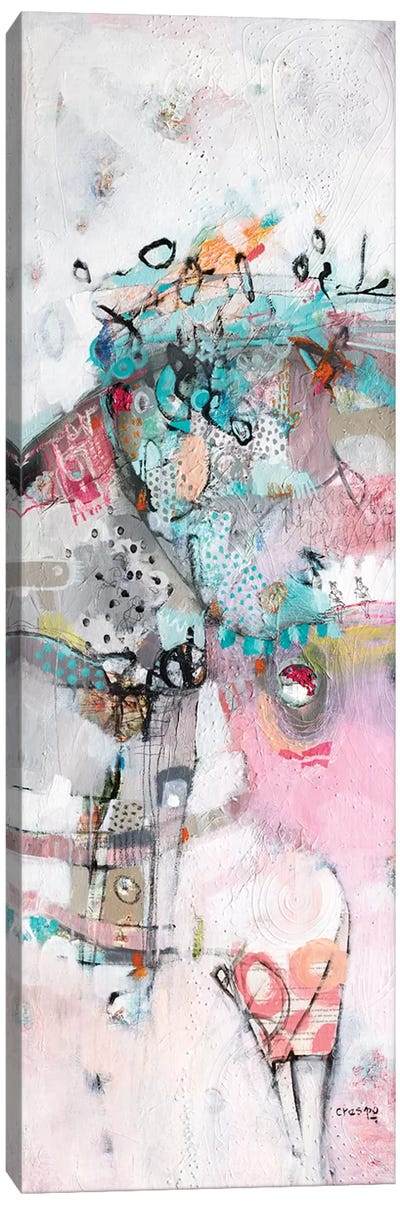 She Is Behind Everything Canvas Art Print