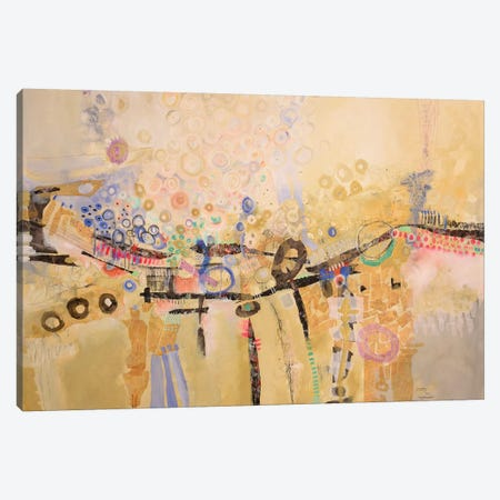 Celebration Canvas Print #MRM7} by Maria Marta Crespo Canvas Artwork