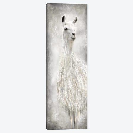 Lulu the Llama Canvas Print #MRR100} by Marla Rae Canvas Art