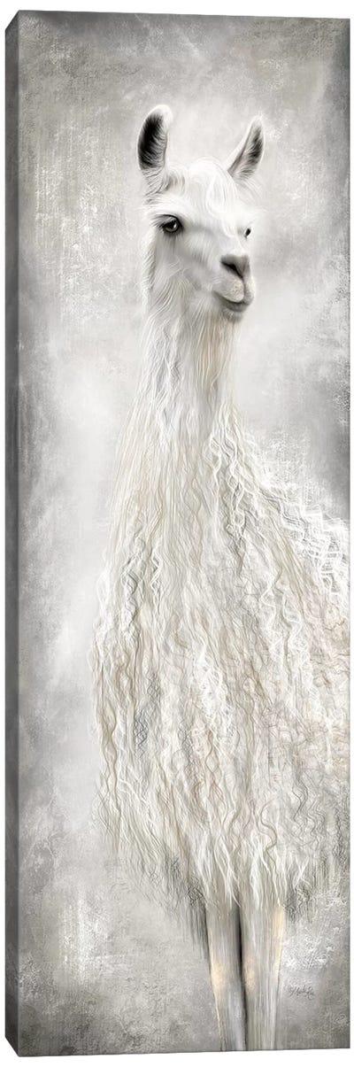 Lulu the Llama Canvas Art Print