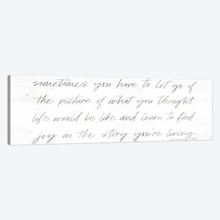 Sometimes You Have to Let Go Canvas Print #MRR104} by Marla Rae Canvas Art Print