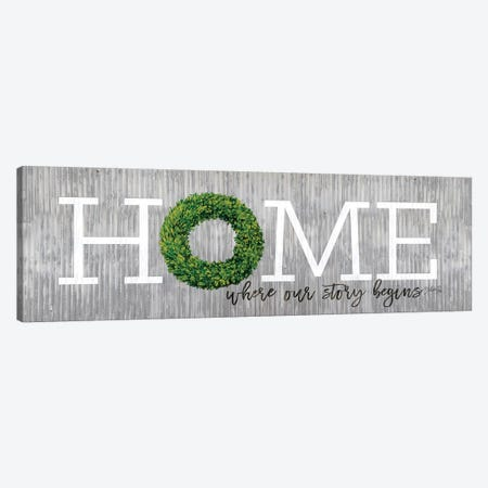 Boxwood Home Canvas Print #MRR109} by Marla Rae Canvas Wall Art