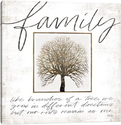Family Tree Canvas Art Print