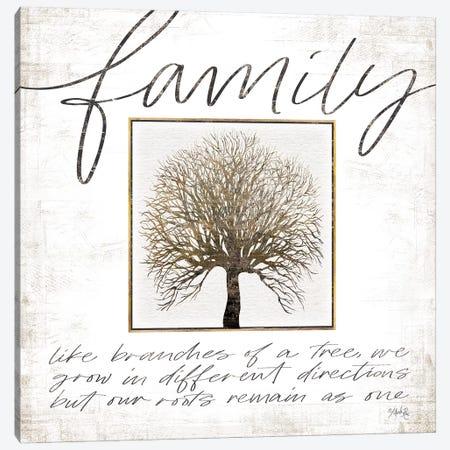 Family Tree Canvas Print #MRR111} by Marla Rae Art Print