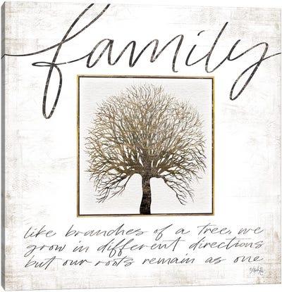 Family Tree Canvas Art Print
