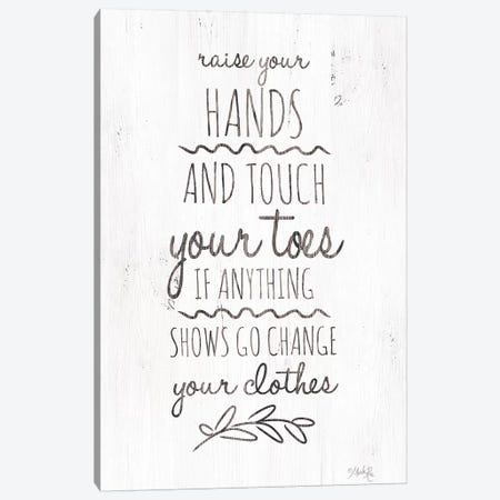 Change Your Clothes 3-Piece Canvas #MRR11} by Marla Rae Canvas Print