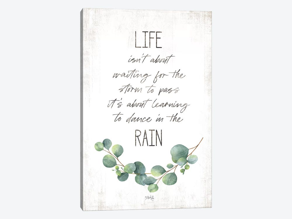 Dance in the Rain by Marla Rae 1-piece Canvas Art