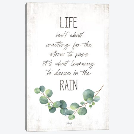 Dance in the Rain Canvas Print #MRR144} by Marla Rae Canvas Art Print
