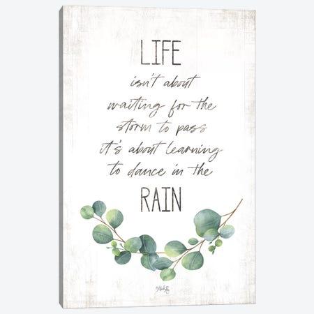 Dance in the Rain Canvas Print #MRR144} by Marla Rae Canvas Art Print