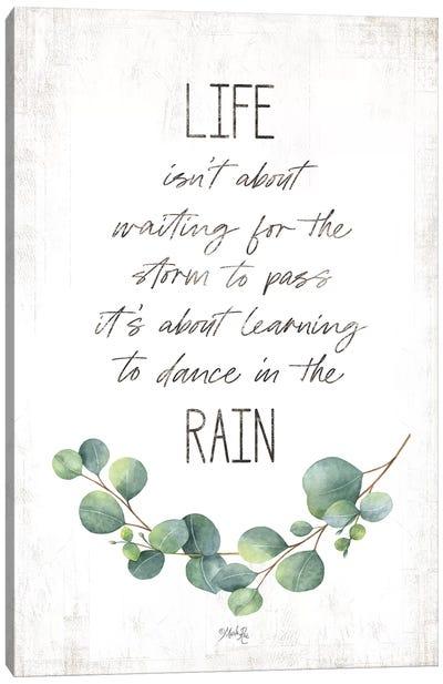 Dance in the Rain Canvas Art Print