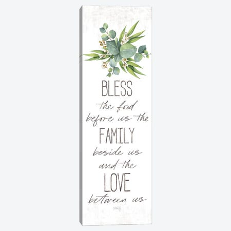 Dinner Blessing Canvas Print #MRR145} by Marla Rae Art Print
