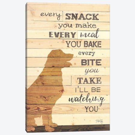 Every Snack you Make Canvas Print #MRR146} by Marla Rae Canvas Art Print