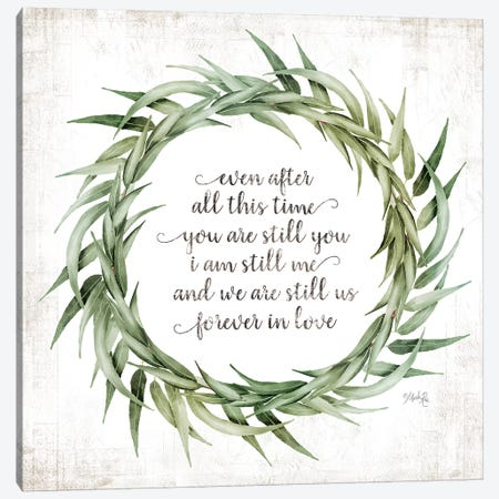 Forever in Love Canvas Print #MRR149} by Marla Rae Canvas Artwork