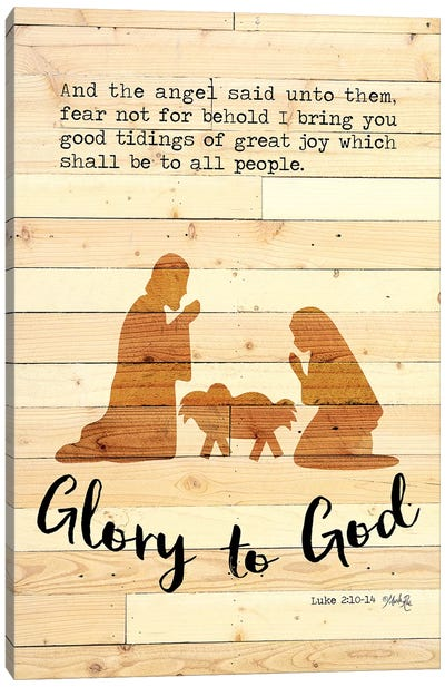 Glory to God Canvas Art Print