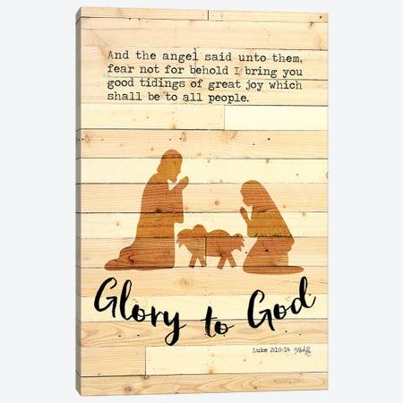 Glory to God Canvas Print #MRR151} by Marla Rae Art Print