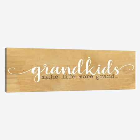 Grandkids Canvas Print #MRR154} by Marla Rae Canvas Artwork