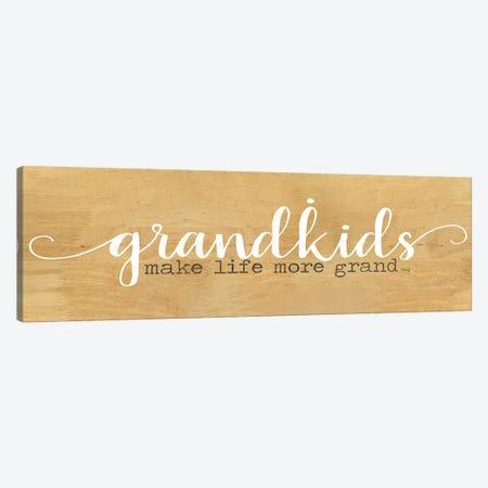 Grandkids Canvas Print #MRR154} by Marla Rae Canvas Artwork