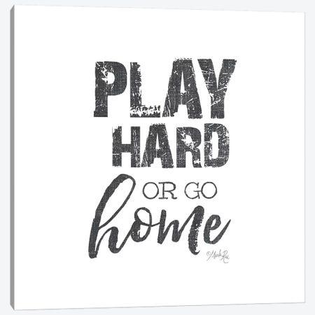 Play Hard Canvas Print #MRR163} by Marla Rae Canvas Artwork